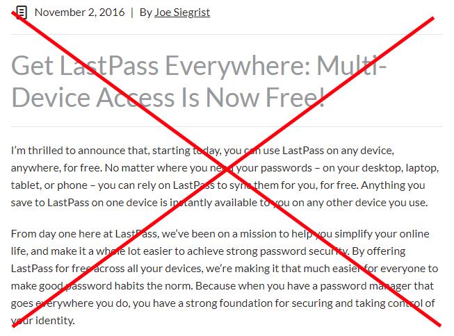 lastpass multi-device access blog post